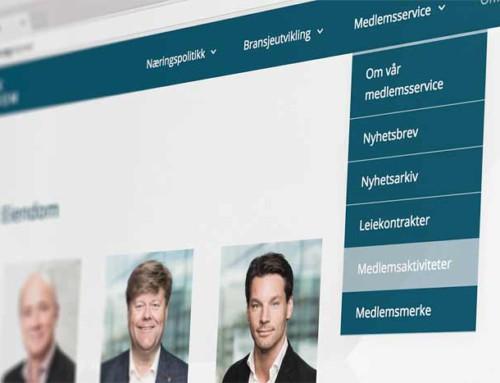 Nettsider til Norsk Eiendom